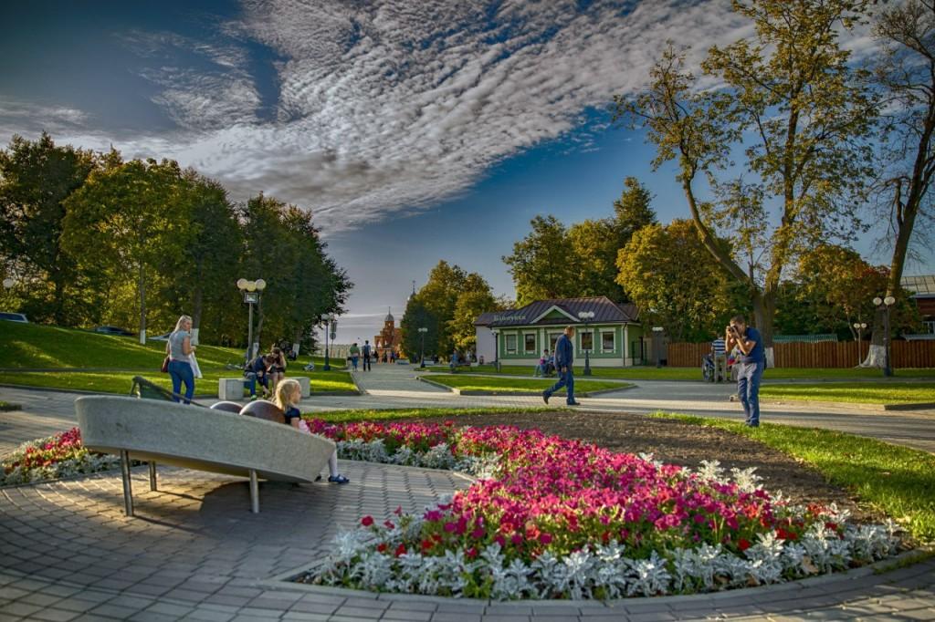 Тёплая осень 2015 во Владимире