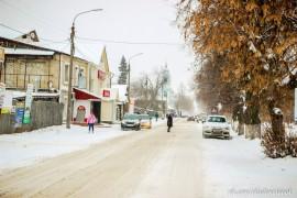 Муром, зимние улицы 19.12.2015
