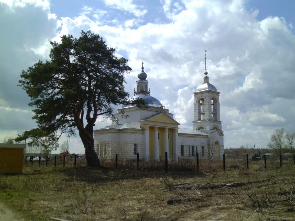 Храм Вознесения Господня (с.Вёшки, Гусь-Хрустальный район)