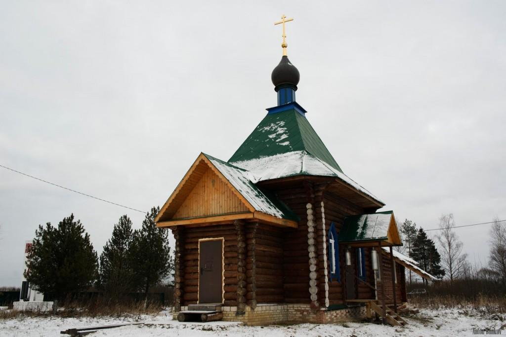 Часовня в деревне Ильино (Судогодский район) 01
