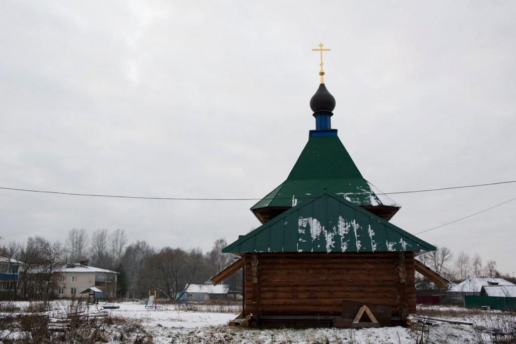 Часовня в деревне Ильино, Судогодский район 02
