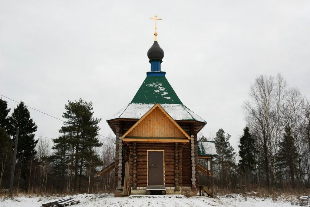 Часовня в деревне Ильино (Судогодский район) 05