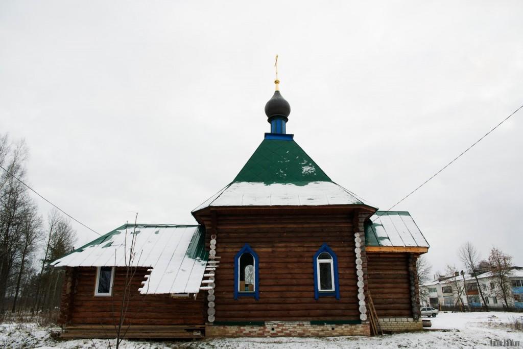 Часовня в деревне Ильино, Судогодский район 06