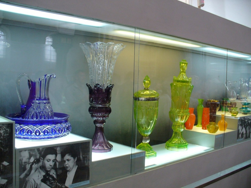 Экспозиция в Музее Хрусталя (Гусь-Хрустальный) 15