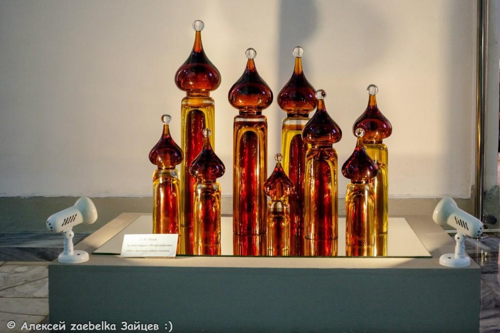 Экспозиция в музее хрусталя 07