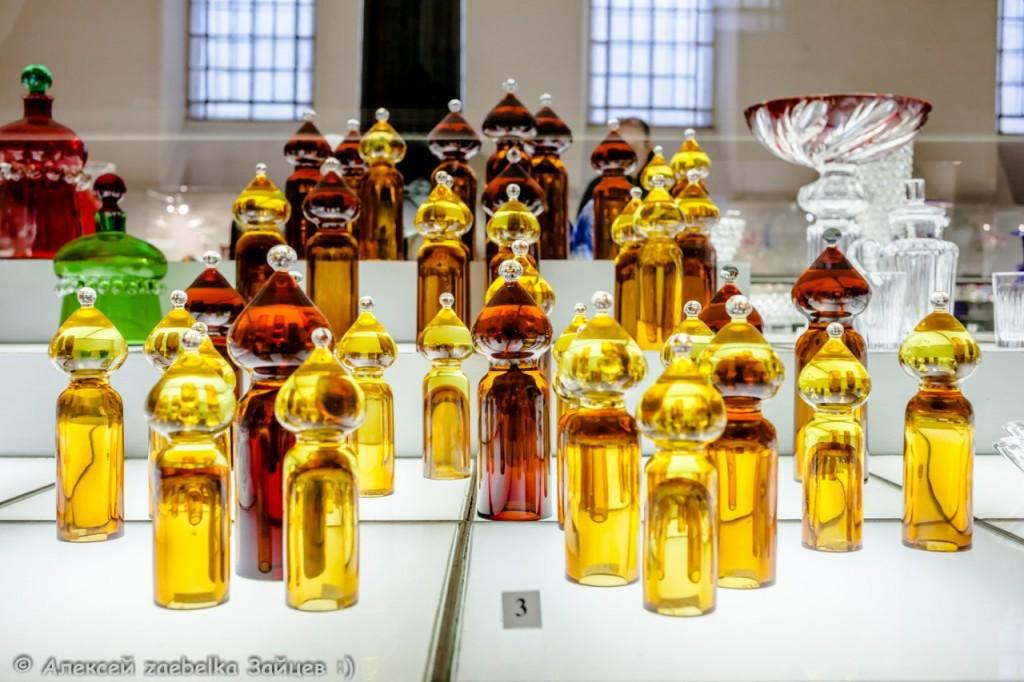 Экспозиция в музее хрусталя 09