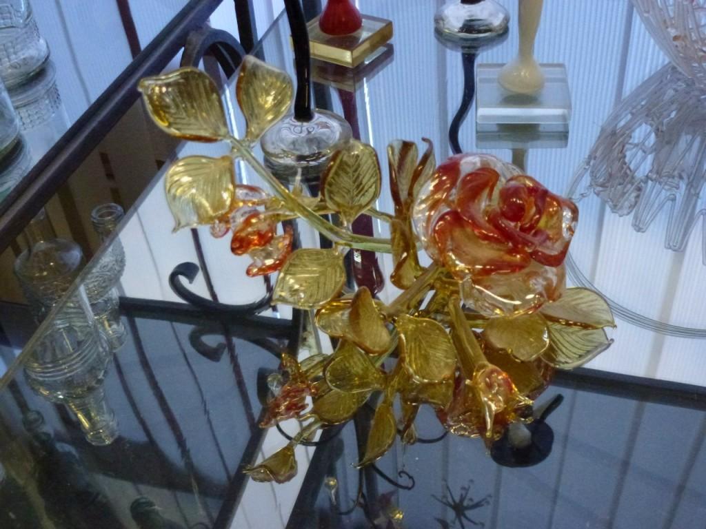 Экспозиция музея Опытного стекольного завода (Гусь-Хрустальный) 06