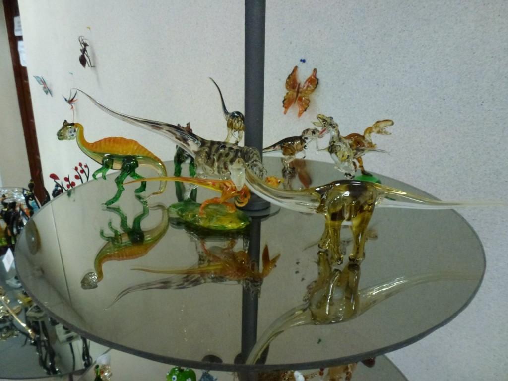 Экспозиция музея Опытного стекольного завода (Гусь-Хрустальный) 08