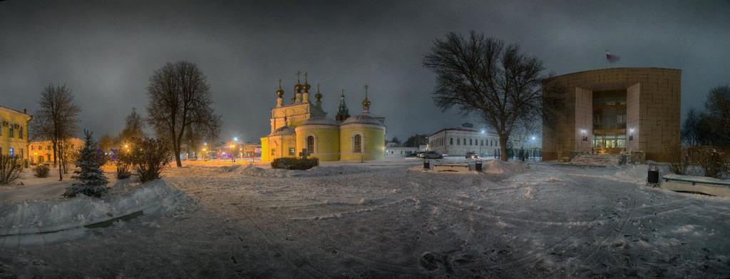 19.12.2015. Вид на Вознесенскую площадь, Муром