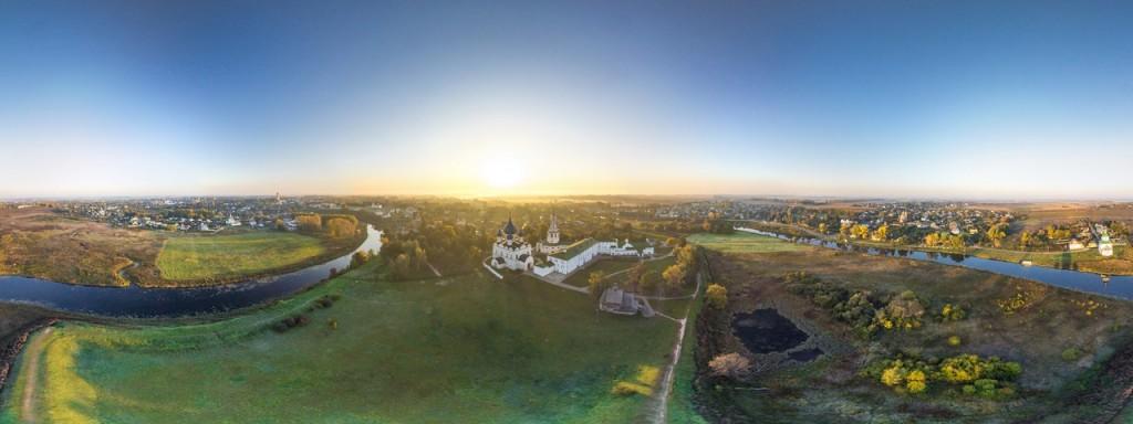 3D-панорама Собора Рождества Богородицы в Суздале