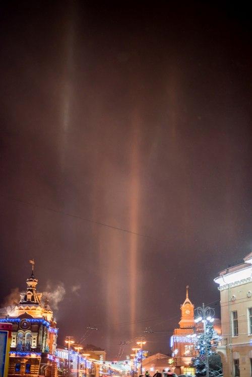 Атмосферное явление под названием гало во Владимире 01
