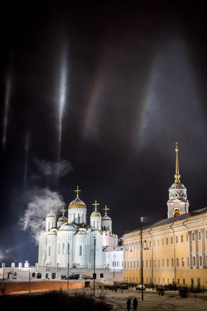 Атмосферное явление под названием гало во Владимире 03