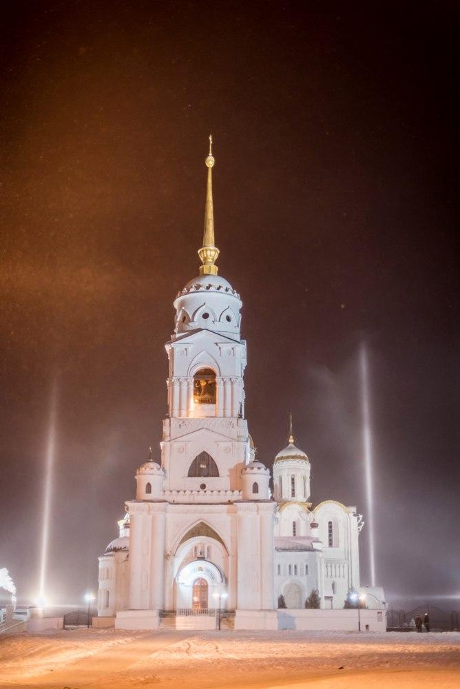 Атмосферное явление под названием гало во Владимире 04