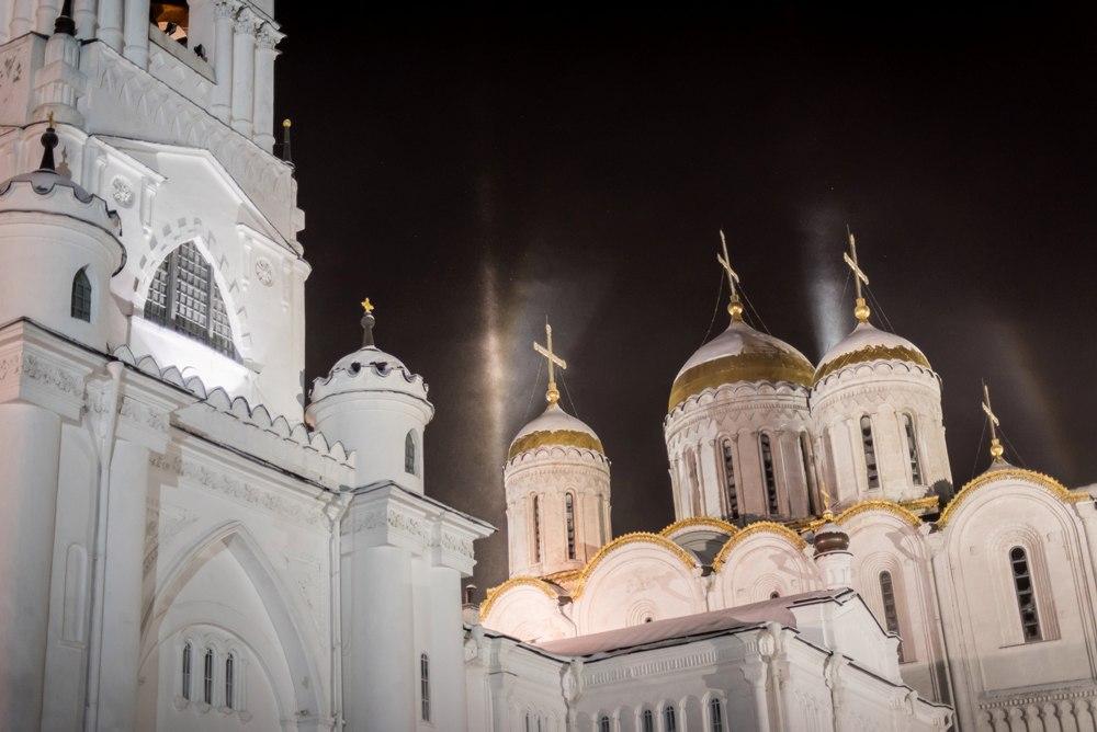 Атмосферное явление под названием гало во Владимире 05