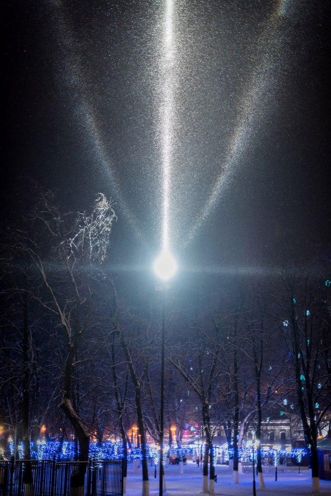 Атмосферное явление под названием гало во Владимире 06