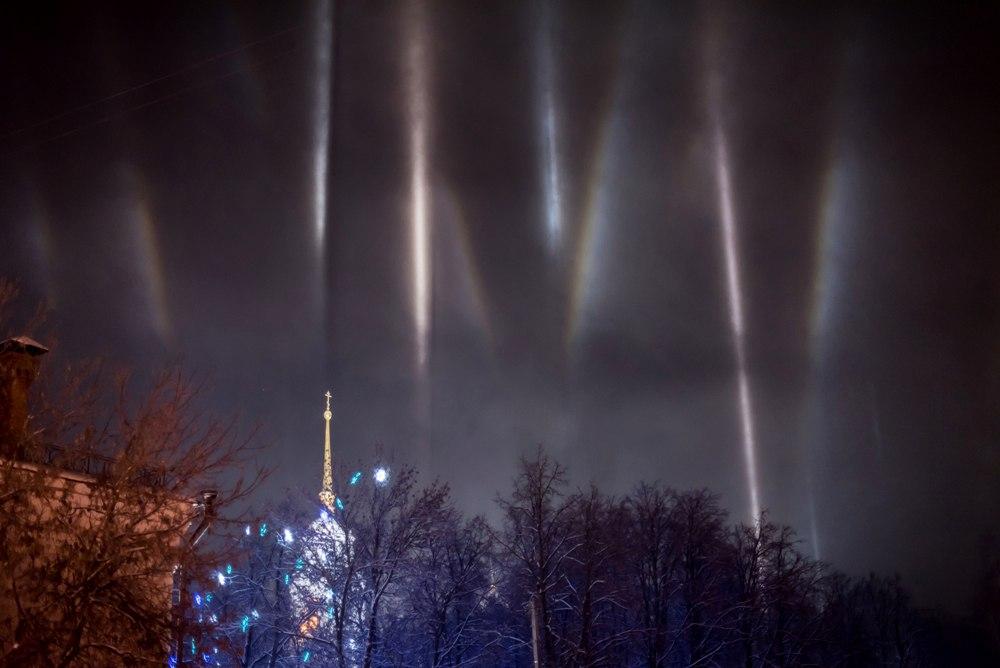 Атмосферное явление под названием гало во Владимире 07