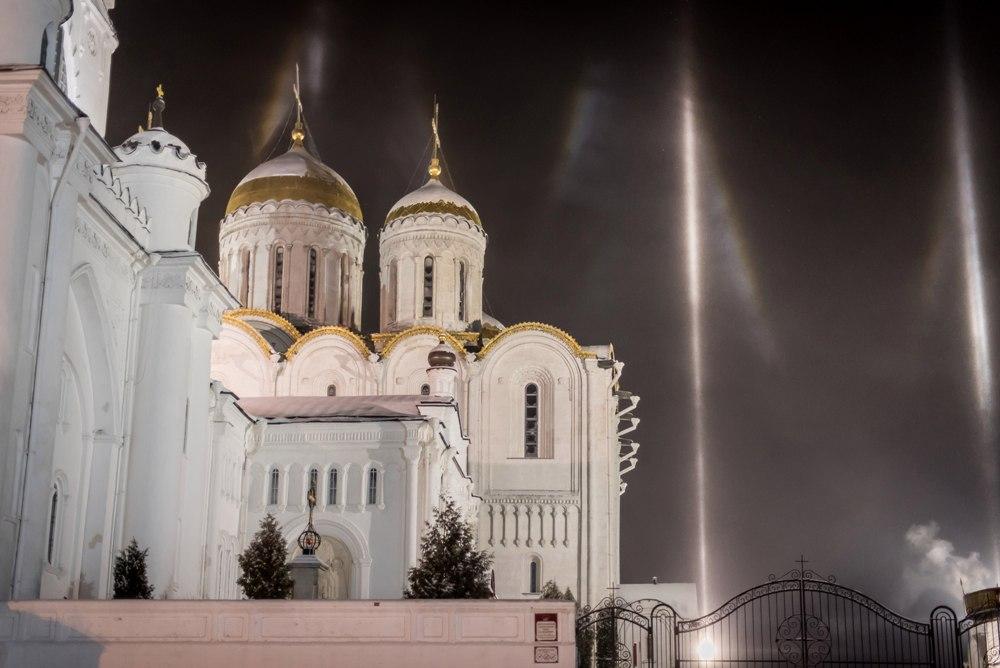 Атмосферное явление под названием гало во Владимире 08