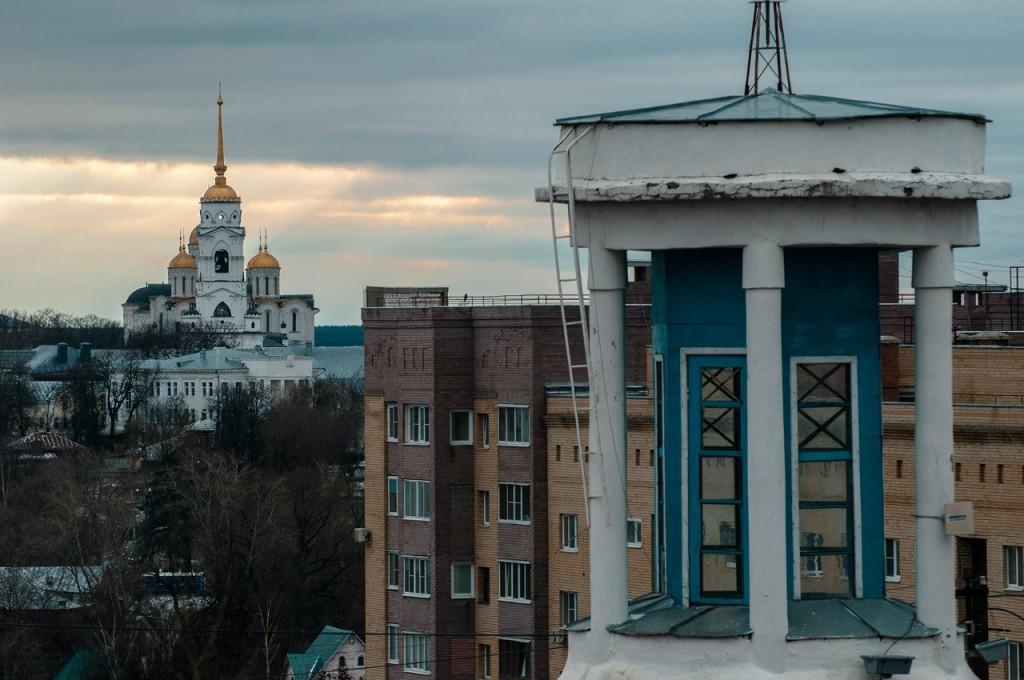 Виды Владимира с высоты, декабрь 01