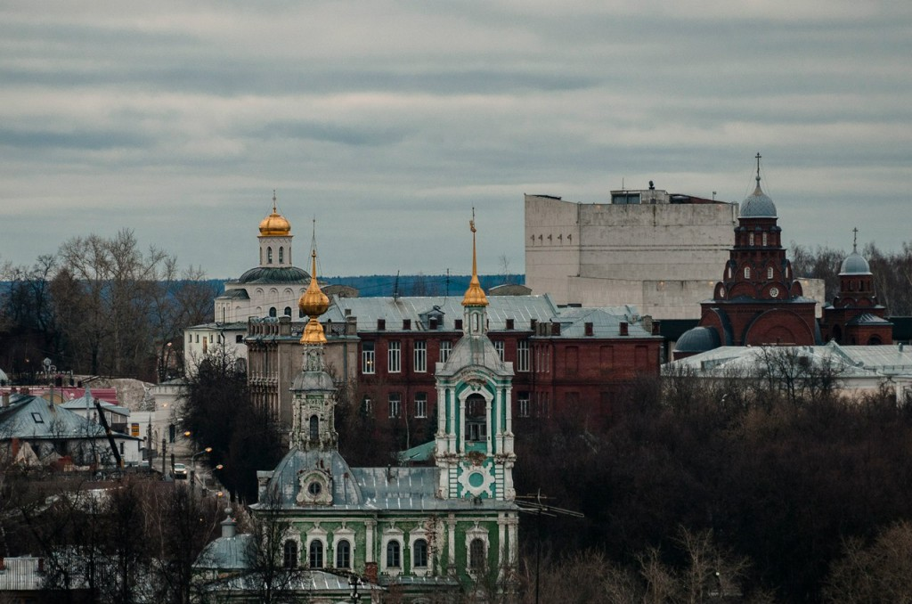 Виды Владимира с высоты, декабрь 02
