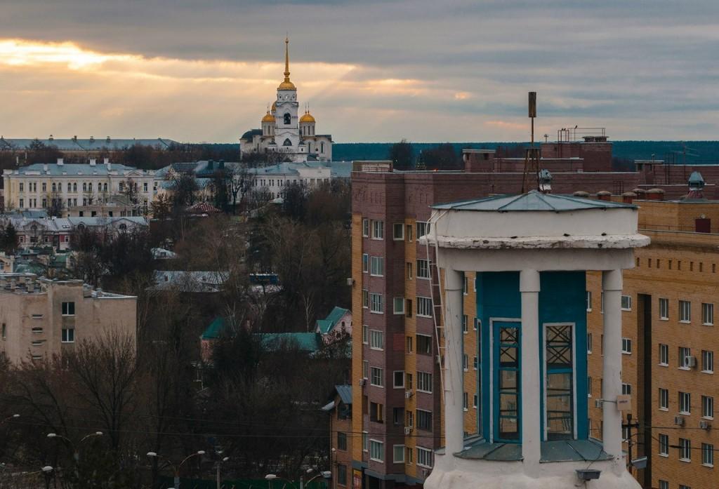 Виды Владимира с высоты, декабрь 03