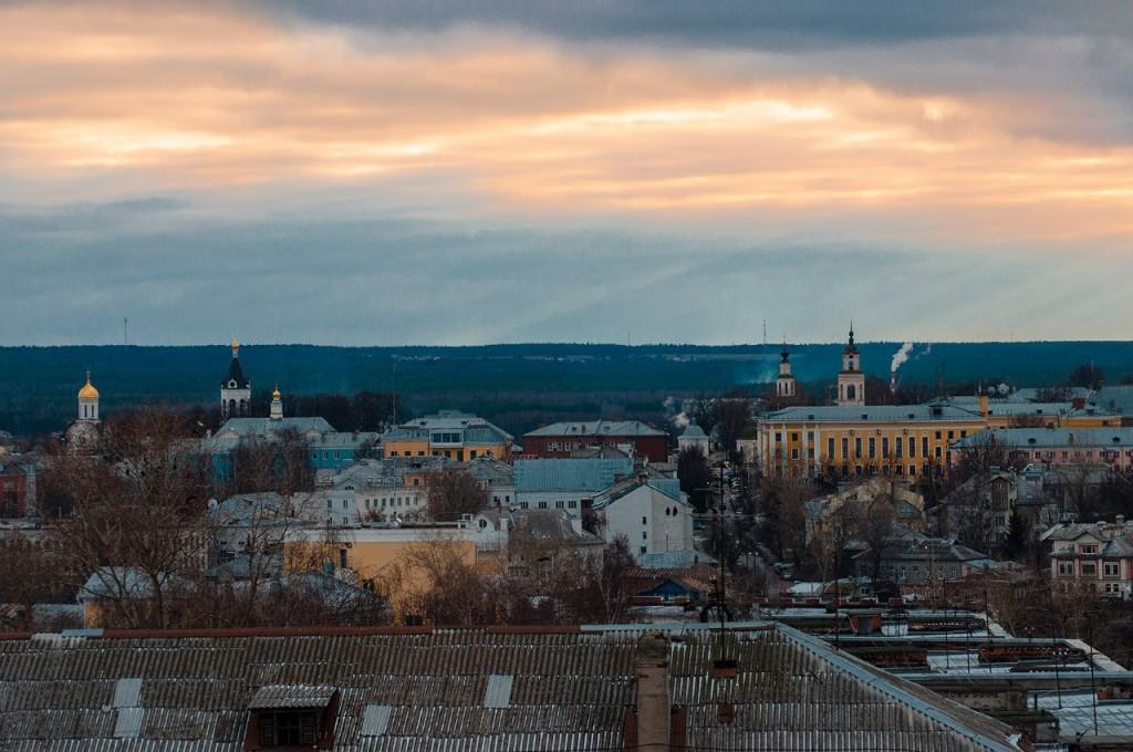Виды Владимира с высоты, декабрь 04