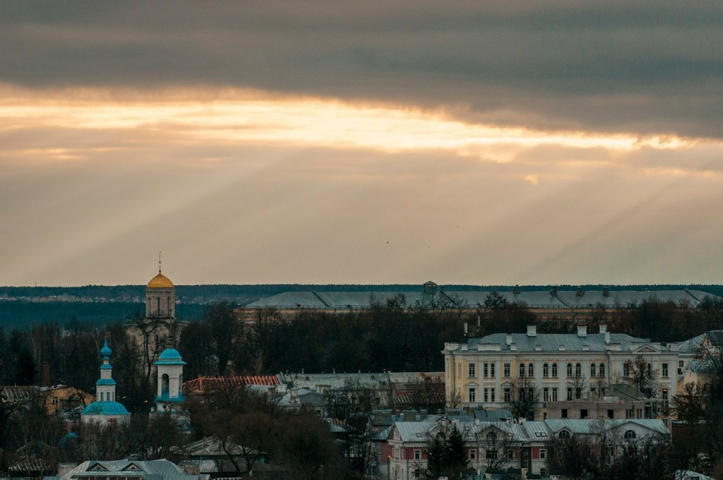 Виды Владимира с высоты, декабрь 05