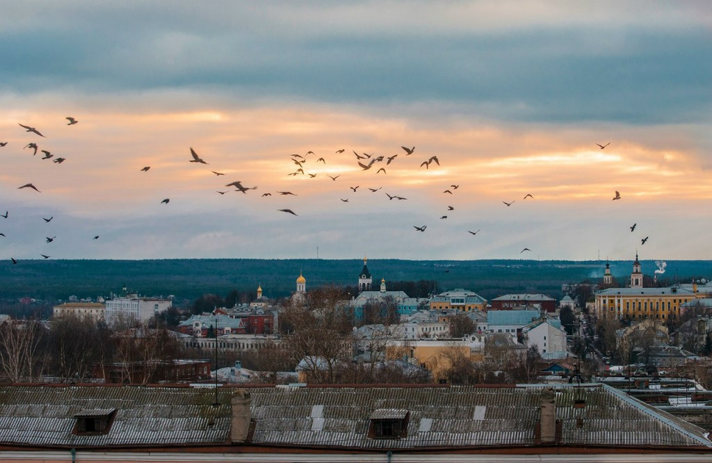 Виды Владимира с высоты, декабрь 06