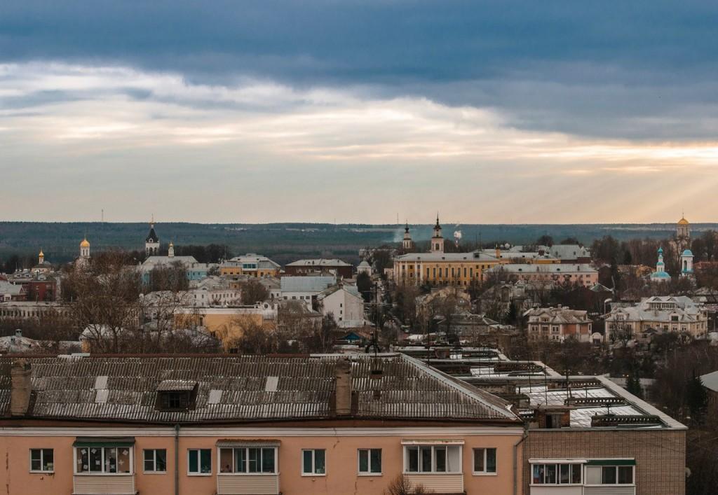 Виды Владимира с высоты, декабрь 07