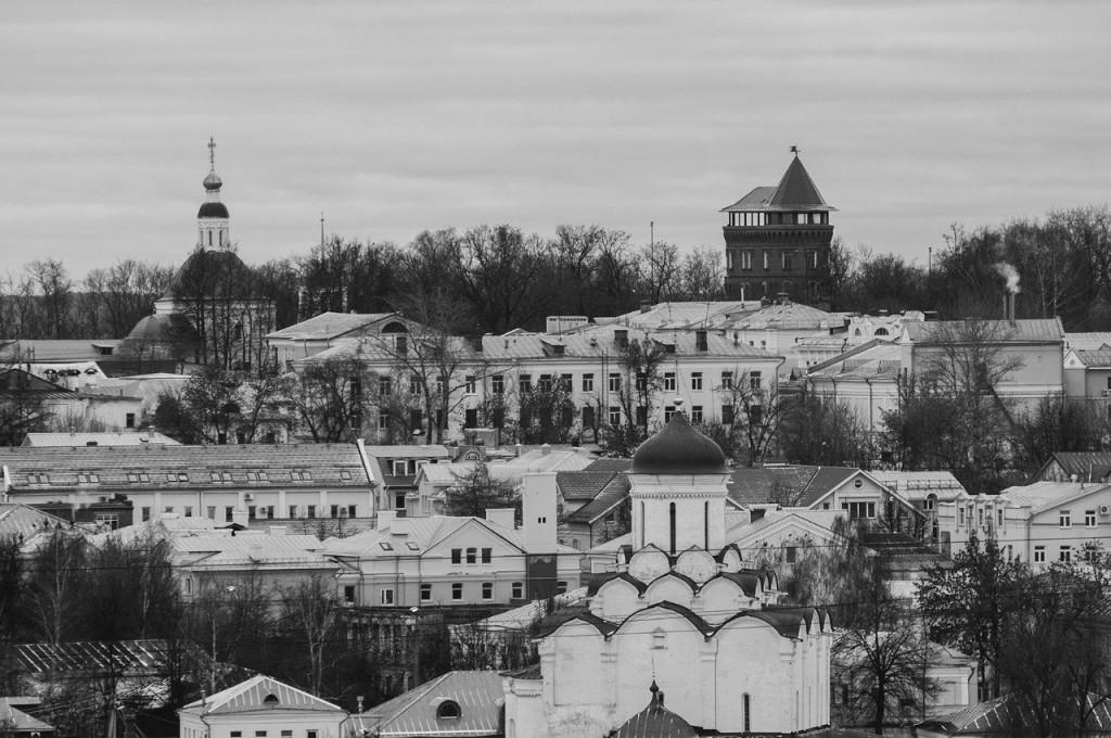 Виды Владимира с высоты, декабрь 08