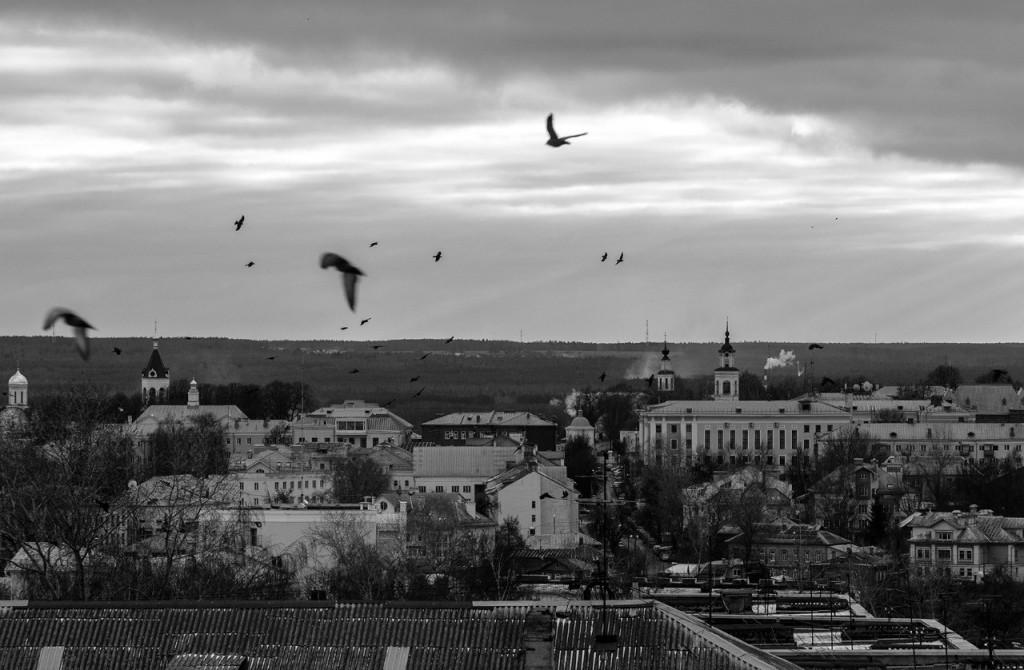 Виды Владимира с высоты, декабрь 09