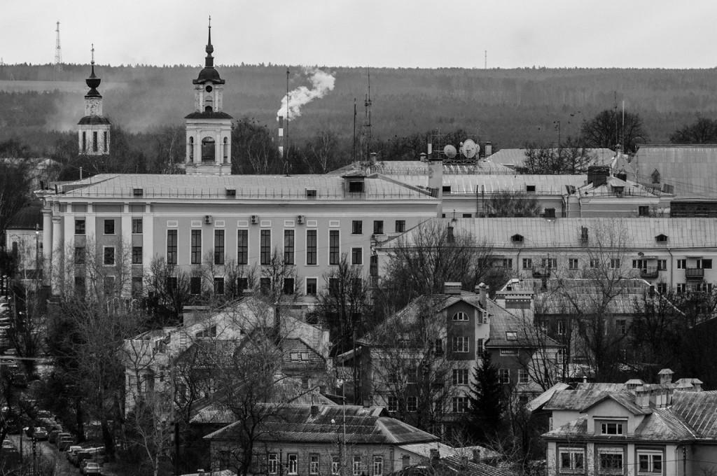 Виды Владимира с высоты, декабрь 10