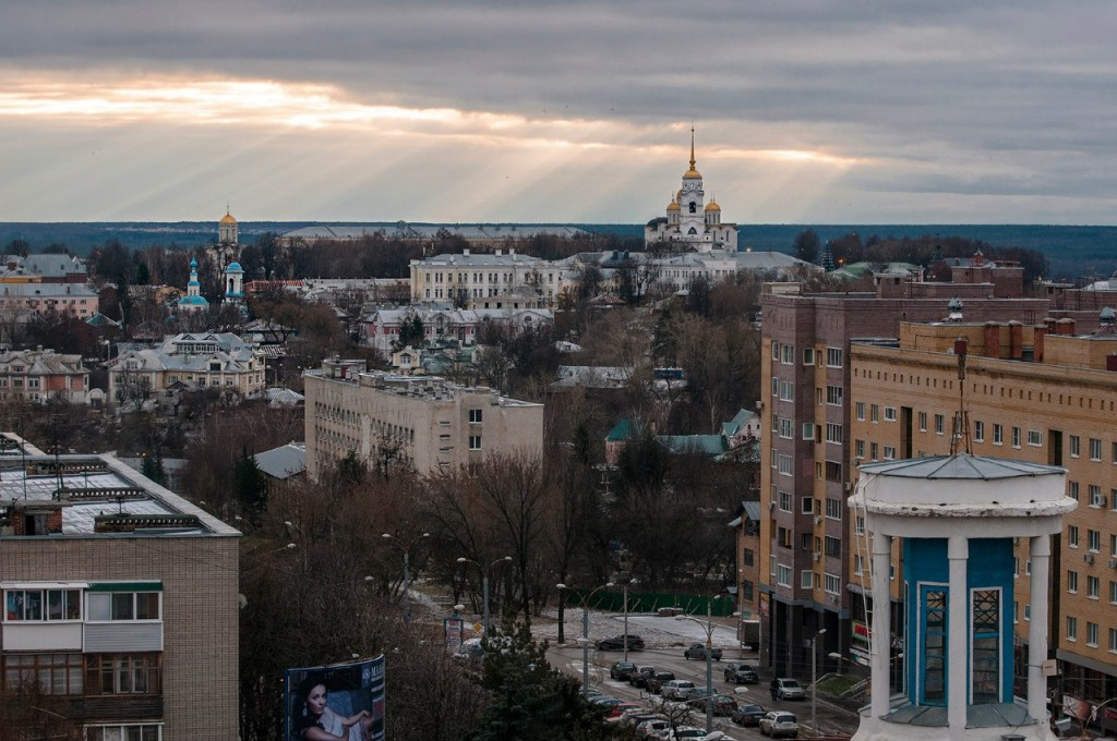 Виды Владимира с высоты от Бориса Пучкова 06