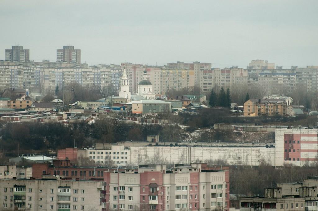 Вид на город с колеса обозрения 06