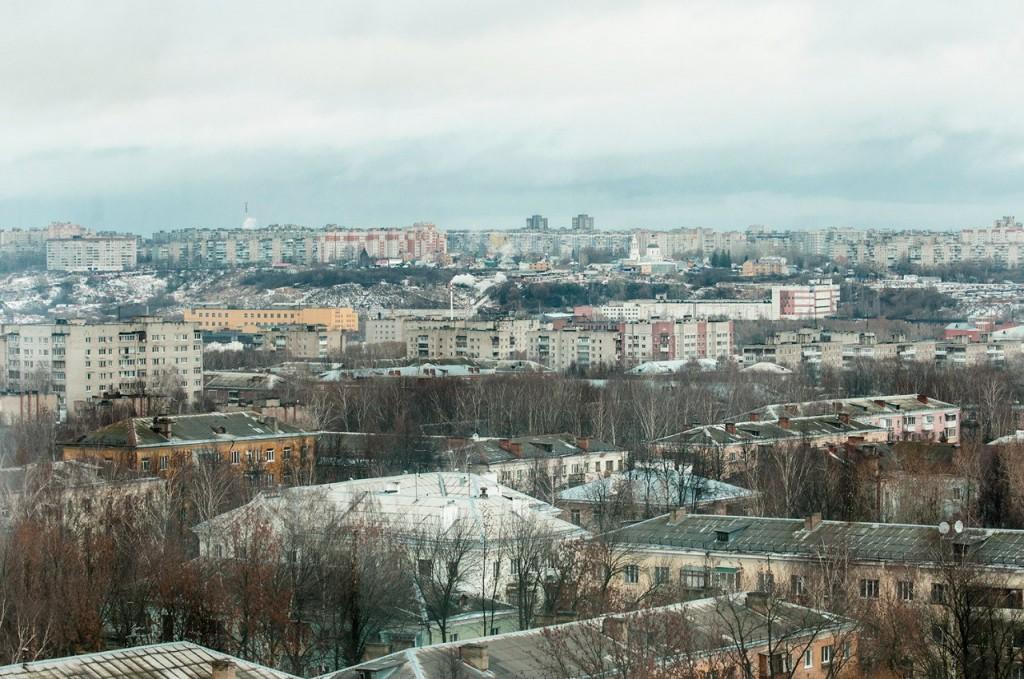 Вид на город с колеса обозрения 07