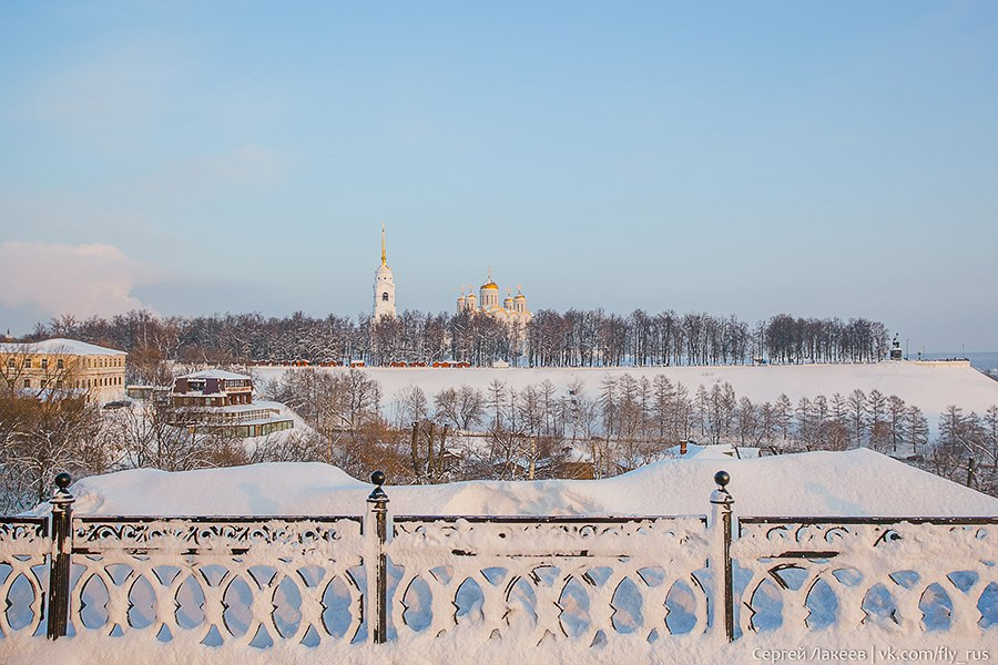 Владимирская зима от Сергея Лакеева 06
