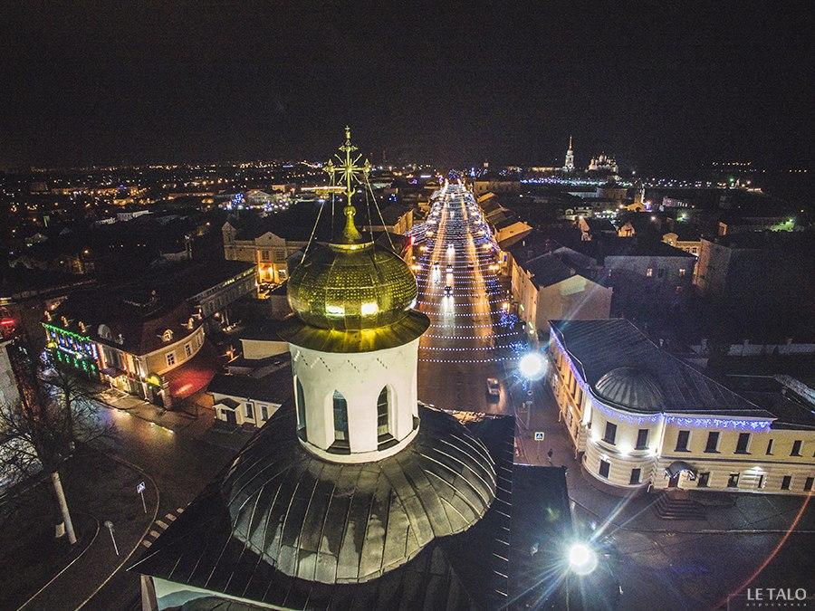 Владимир, улицы, с высоты птичьего полета