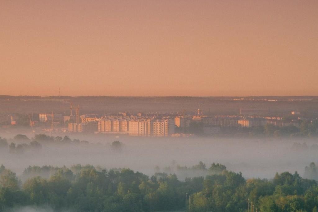 Восход во Владимире 08