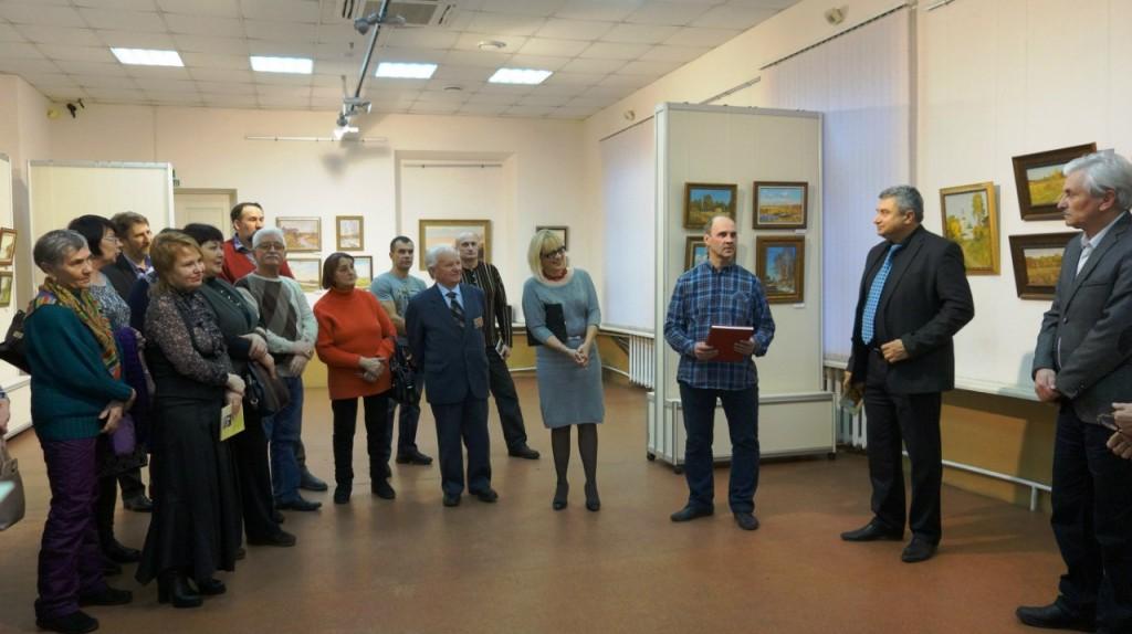 Выставка А. В. АНТОНОВА во Владимире 02