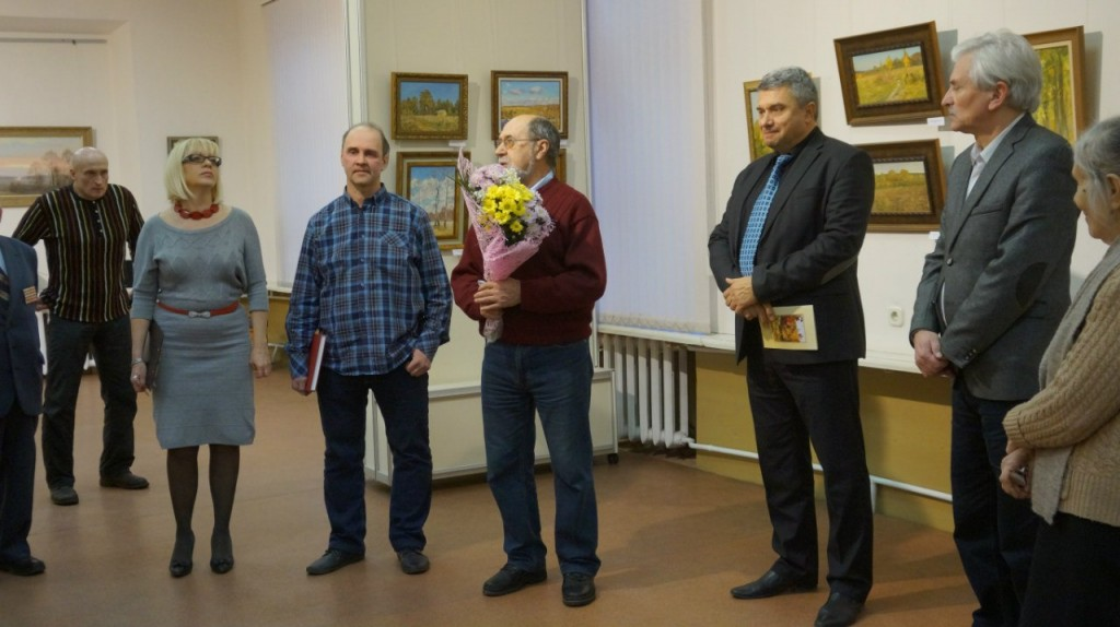 Выставка А. В. АНТОНОВА во Владимире 05