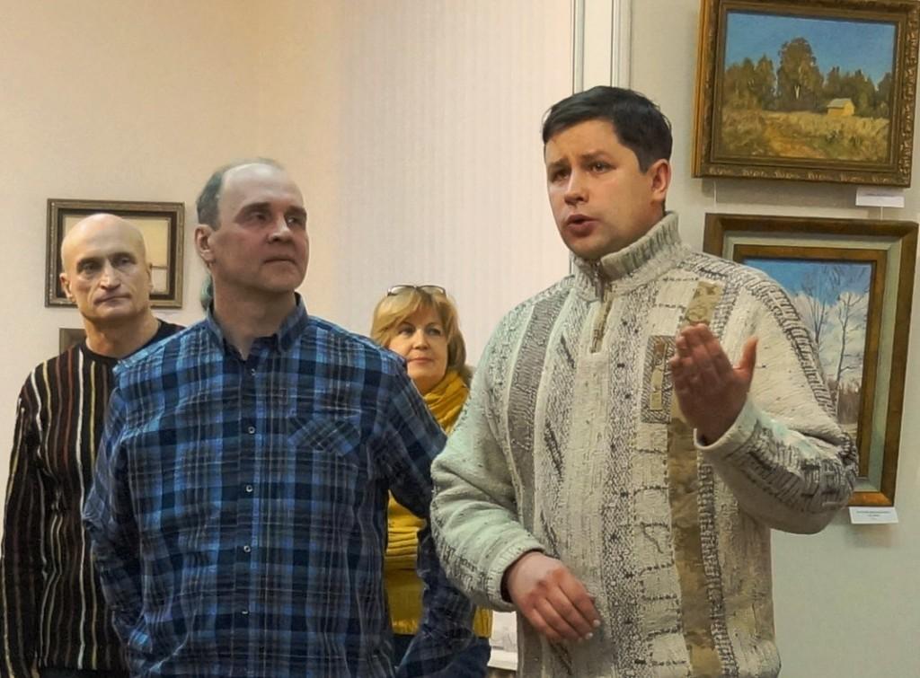 Выставка А. В. АНТОНОВА во Владимире 07