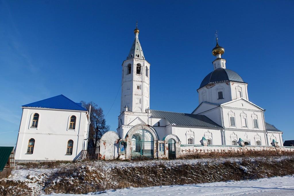 Деревня Санино, Свято-Никольский женский монастырь 02