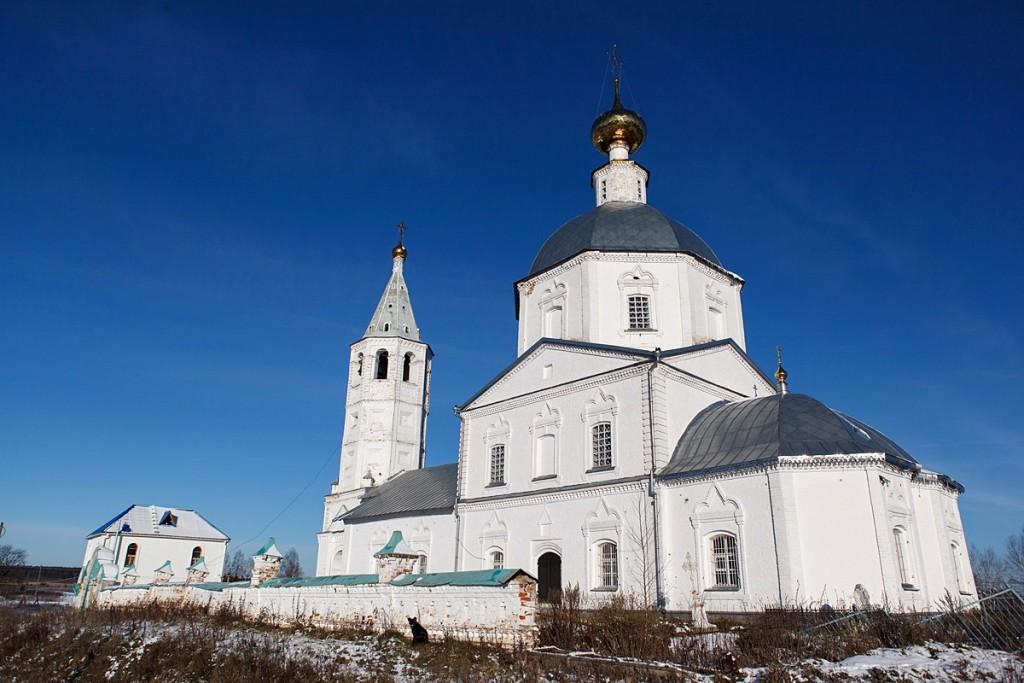 Деревня Санино, Свято-Никольский женский монастырь 04