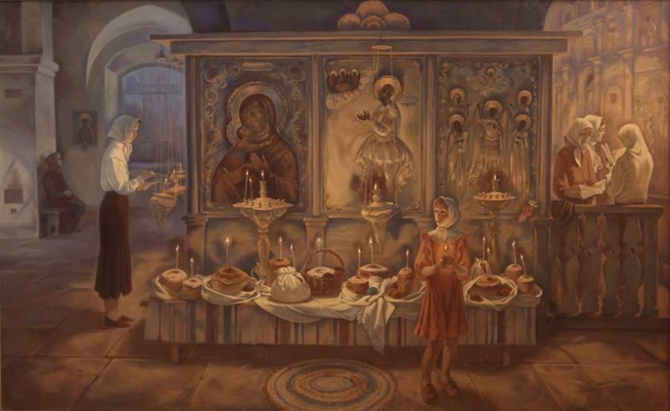Жанровые картины Виктора Бычкова 04