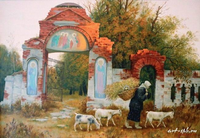 Жанровые картины Виктора Бычкова 07