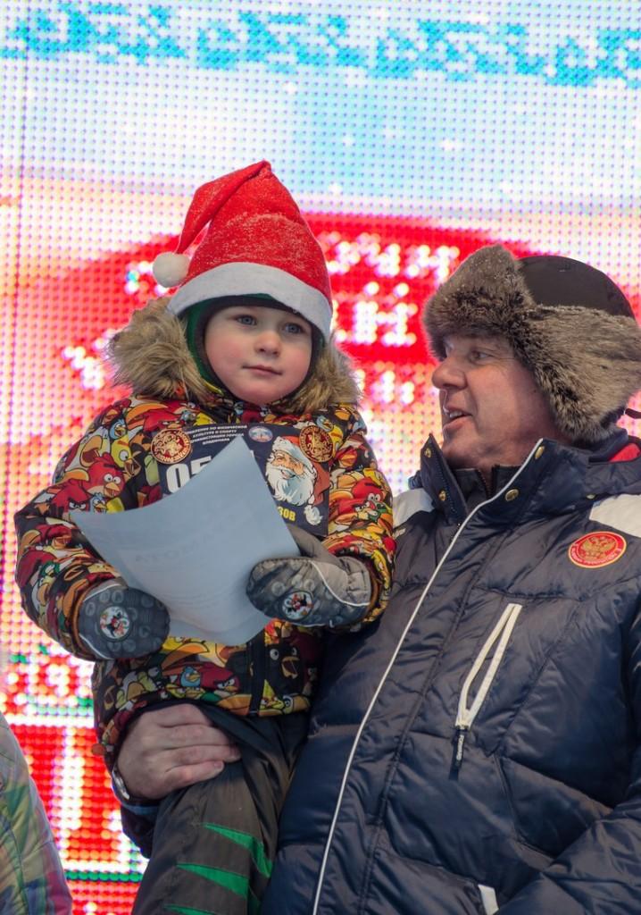 Забег Дедов Морозов и Снегурочек во Владимире 09