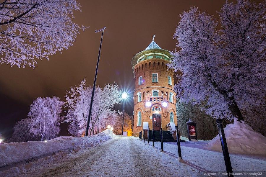 Зимняя ночь во Владимире 01