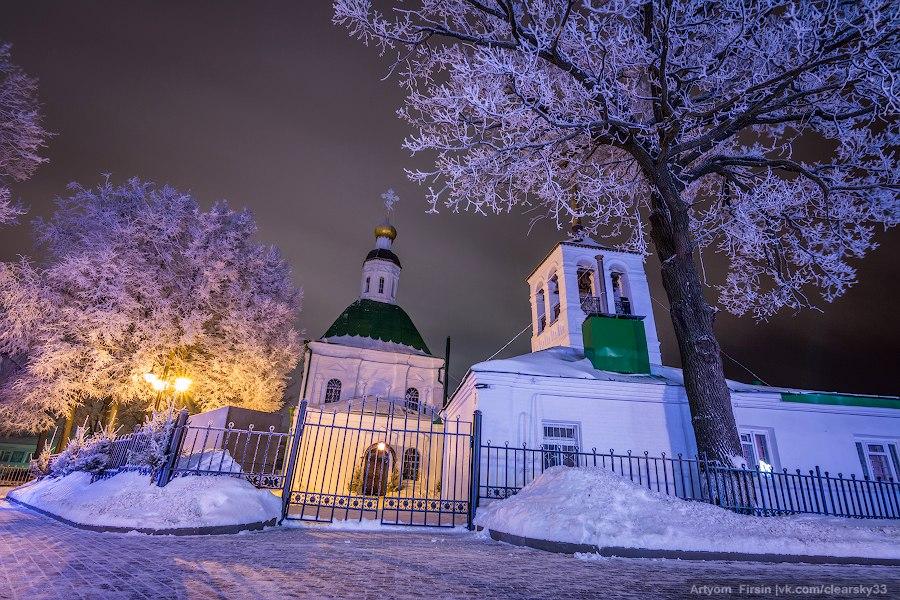 Зимняя ночь во Владимире 05
