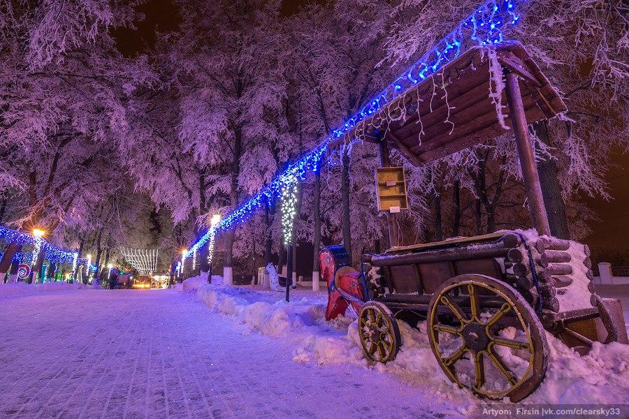 Зимняя ночь во Владимире 06