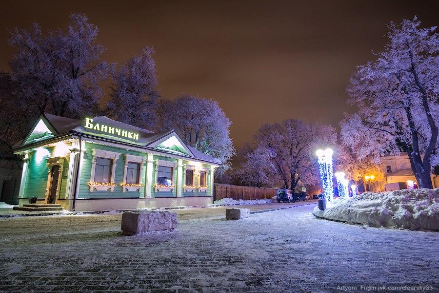 Зимняя ночь во Владимире 07