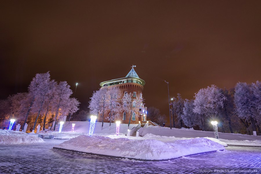 Зимняя ночь во Владимире 08